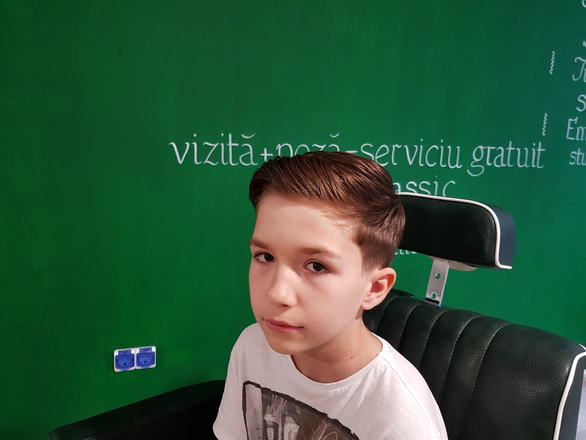 frizerie copii Stefan cel Mare