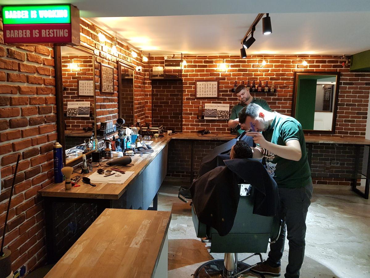 Prima experiență la un barbershop